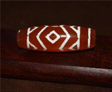 old tibetan 3 eyes dzi bead pendant tibet real eye three eyed gzi amulet ancient