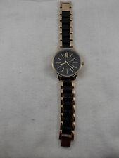 "Anne Klein Watch AK/1412 Gold & Black 7"""