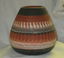 Signed Navajo Small Engraved Pot