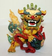 Design Toscano European Styled Sculpture/ Dragon Figurine/Heavy/Very Colorful