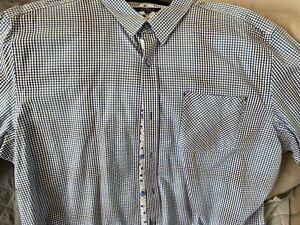 Mens Jeff Banks Long  Sleeve Shirt Size XXL