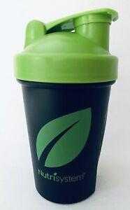 Nutrisystem Blender  Bottle Shaker Cup 12 Oz  Mixer Whisk Ball