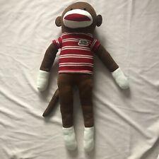 """Giant Dandee Jumbo Sock Monkey Collectible Plush Stuffed Animal 4ft 50"""""""