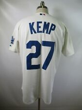 E4605 VTG MAJESTIC Los Angeles Dodgers Matt Kemp 27 MLB Baseball Jersey Size 48