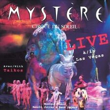 New: CIRQUE DU SOLEIL MYSTERE - Live in Las Vegas w/ Taikos CD