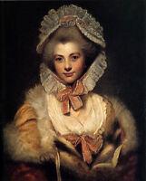 Oil painting Joshua Reynolds - Portrait of Lavinia Spencer, Countess Spencer