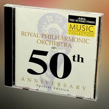 Real Philharmonic Orchestra 50th Aniversario Edición Especial música cd álbum