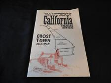 Vintage 1979 Eastern California Treasure Hunters Ghost Town Guide by Theron Fox