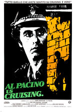 CRUISING movie poster AL PACINO COP after SERIAL KILLER gay bars NYC 24X36