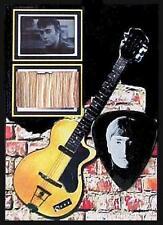 Beatles John Lennon Hamburg Star Club Wood Stage Display + Guitar Pick Germany