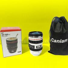 "Tazza obiettivo THERMOS 24-105mm F/4 IS USM ""Caniam"" Focus Camera Cup BIANCA"