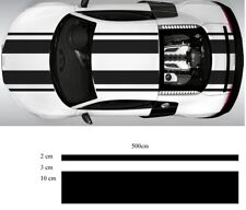 car race stripe decal kit sticker vinyl two 15cm 500cm!