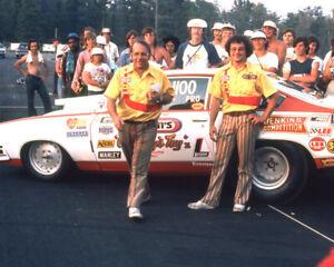 BILL GRUMPY JENKINS & LARRY LOMBARDO IN WINNERS CIRCLE 8X10 GLOSSY PHOTO #9