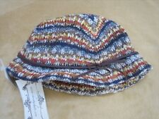 Christys Crown Series Womens Bucket Hat, Multicolor Knit, NWT