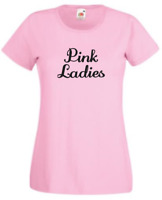 Grease Inspired T Birds/ Pink Ladies T Shirt NoveltyStag/Hen/Fancy Dress FDC