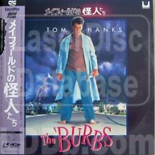 The Burbs (Tom Hanks) - Authentic Japanese Laser Disc + OBI Strip - RARE