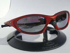 Vintage Oakley XX Twenty FMJ Red Chrome Iridium Sunglasses RARE