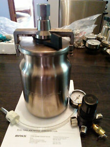 BINKS- MACH 1- 1 Qt Pressure Paint Cup/Regulator
