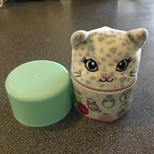 "Justice Exclusive Mystery Squishmallow 4"" Crystal The Snow Leopard"