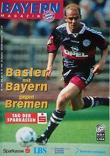 Programm 1997/98 FC Bayern München - Werder Bremen