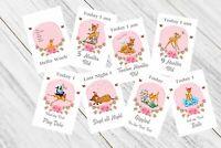 Baby Milestone Cards, Bambi, Girls Pink, 33 Cards,300gsm card stock, photo prop,