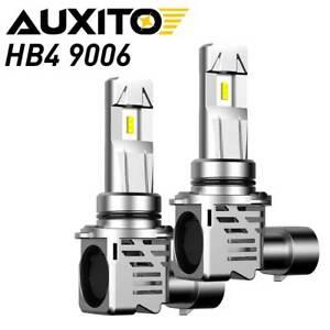 2x AUXITO HB4 9006 LED Headlight Bulbs Low Beam Kit 200W 24000LM Super Bright QC