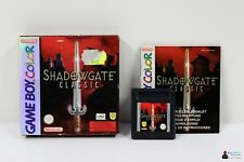Nintendo GameBoy Color Spiel - SHADOWGATE CLASSIC - Komplett in OVP