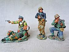 King & Country retired World War II - WS065 - The last stand (soldats allemands)