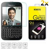 2x KHAOS Premium Tempered Glass Screen Protector For BlackBerry Classic Q20