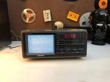 Vintage ONWA TV & Radiowecker TVR-706 Mini-TV