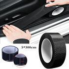 Car Door Carbon Fiber Sticker Body Anti Scratch Protector Sill Scuff Cover Strip