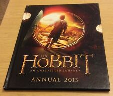 THE HOBBIT AN UNEXPECTED JOURNEY Annual 2013 Book (Hardback)