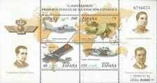 Spanje Blok 97 postfris 2001 Vliegtuigen Spaniens