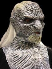 WHITE ICE Zombie Masque-Deluxe-morts-vivants Walker-Latex Halloween Jeu de masques-Neuf