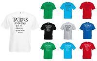 Taters, Mens Printed T-Shirt