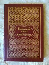 EASTON PRESS ROMEO AND JULIET BY SHAKESPEARE