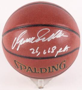 "Dominique Wilkins Signed NBA Basketball Inscribed ""26,668 Pts"" (Schwartz COA)"