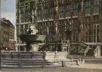 Alte Postkarte - Bad Aachen - Rathaus