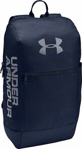 Under Armour Patterson Backpack Blue Water Repellent Rucksack Adjustable Straps