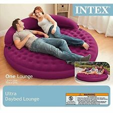 Intex Ultra Inflatable Daybed Couch Bed Lounge Camping Indoor Outdoor Use