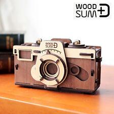WOODSUM Pinhole Camera Self Assembly Kit