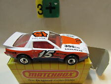 Matchbox 1983 - Pontiac Firebird Racer Blanco - MB60