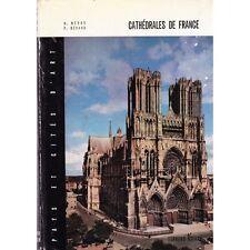 CATHEDRALES DE FRANCE / Pierre GERARD et Mathieu MERAS illustré NetB 1962 photos