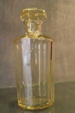 Carafe flacon en cristal signé DAUM crystal bottle