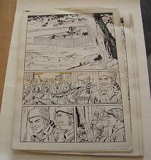 Originalzeichnungen einer kompletten Daniel Boone Geschichte , 20 Seiten