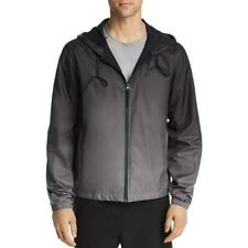 Alo Yoga Mens Advent Circuit Black Running Athletic Jacket Outerwear L Bhfo 4344