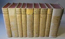 C. von LINNÉ /P. MÜLLER: NATURSYSTEM / TIERREICH, 9 Vol. 1773-1776, komplett, EA
