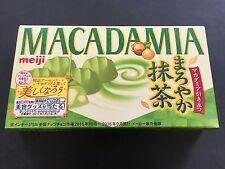 Meiji Madadamia Chocolates Matcha Green Tea Nut Chocolate 9 Pieces MADE IN JAPAN