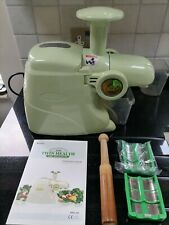 More details for twin health living juice extractor, twin gear juicer - collect cr3