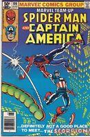 Marvel Team-Up Spider-Man & Captain America #106   June 1981   Marvel Comics
